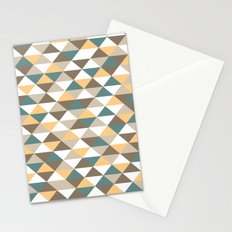 Triangle Pattern #2 Stationery Cards