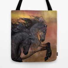 HORSES - On sugar mountain Tote Bag