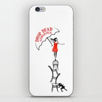 drop dead gorgeous - fall iPhone & iPod Skin
