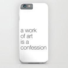 work of art iPhone 6s Slim Case
