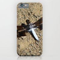 iPhone Cases featuring Dragonfly by Andrea Morris