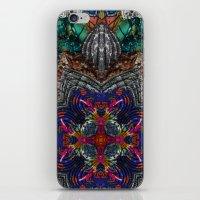 Psychedelic Botanical 16 iPhone & iPod Skin