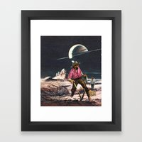 The Wild West Guide To The Galaxy # 209 Framed Art Print