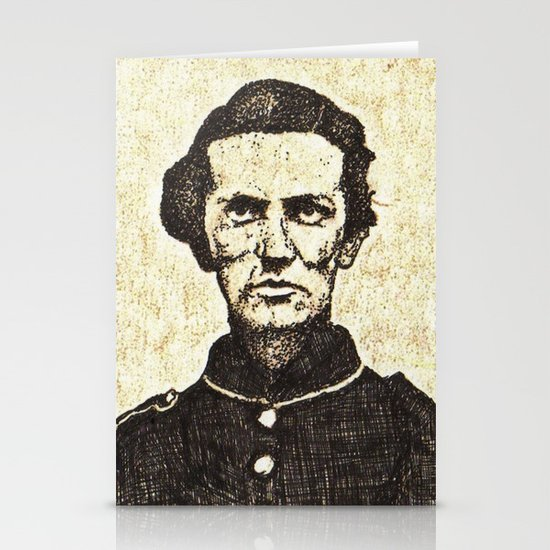 sgt george c whitecar Stationery Card