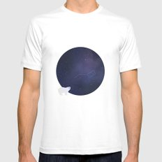 Ursa Major SMALL Mens Fitted Tee White