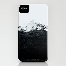 Those waves were like mountains Slim Case iPhone (4, 4s)