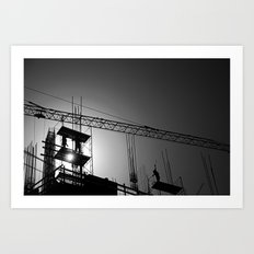 Building Buildings Art Print