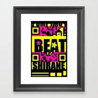 Beat Wins K U R - Shiran… Framed Art Print