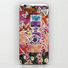 Lil Blogger Girl iPhone & iPod Skin