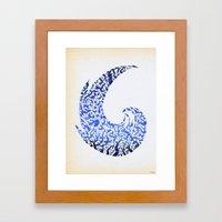 - atlantic - Framed Art Print