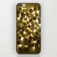3D What Burns in Your Box? iPhone & iPod Skin