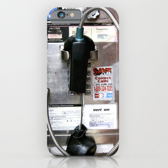 Pay Phone VIII iPhone & iPod Case