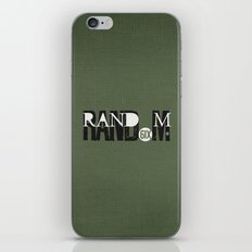 RAND(6IX)M iPhone & iPod Skin