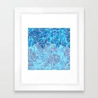 Blissful Rays Framed Art Print