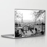 paris Laptop & iPad Skins featuring Paris by Studio Laura Campanella