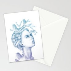 Shadows of My Soul (A Portrait of a Life's Lingering Past) Stationery Cards