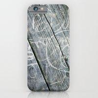 graffiti wood iPhone 6 Slim Case