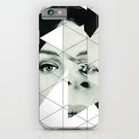 iPhone & iPod Case featuring Frau mit Dreieck 3 by Marko Köppe