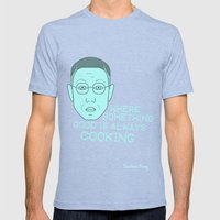 Breaking Bad - Faces - Gustavo Fring Mens Fitted Tee Tri-Blue SMALL