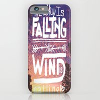 iPhone & iPod Case featuring The sky is falling, the wind is calling by Beckah Carney Photography