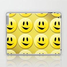 Smiley Smileys! Laptop & iPad Skin