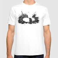 Whiteout Blackout Mens Fitted Tee White SMALL