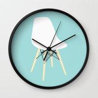 #98 Eames Chair Wall Clock