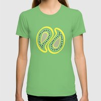 Vida / Life 01 Womens Fitted Tee Grass SMALL