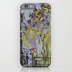 paint by numbers pattern Slim Case iPhone 6s