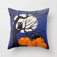 Halloween-3 Throw Pillow