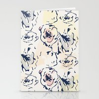 Graffiti Floral Stationery Cards