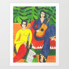 Matisse#2 Art Print