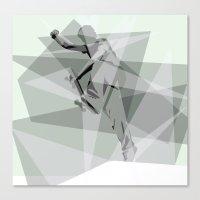 Boneless Canvas Print