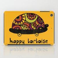 Happy Tortoise iPad Case