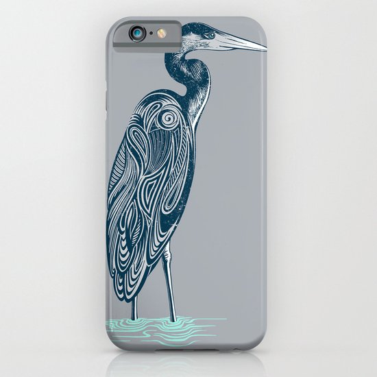 Bewitching blue heron iPhone & iPod Case