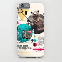 iPhone & iPod Case featuring THE HUNTER by alfboc