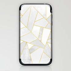 White Stone iPhone & iPod Skin