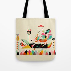 Wired Jungle Tote Bag