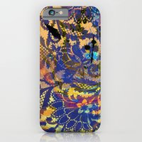 iPhone & iPod Case featuring Laced Purple by elikourY