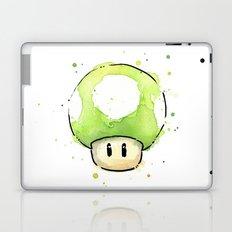 1UP Mushroom Painting Laptop & iPad Skin