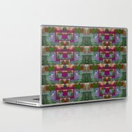 Laptop & iPad Skin featuring Abstract Palm K by Vitta