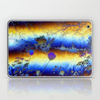 ABSTRACT - My Blue Heave… Laptop & iPad Skin