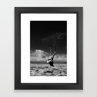 The Player 2 Framed Art Print