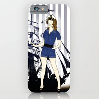 Navy Girl iPhone 6 Slim Case