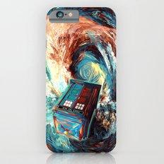 Tardis doctor who at starry night Dark Vortex iPhone 4 4s 5 5c 6, pillow case, mugs and tshirt iPhone 6 Slim Case