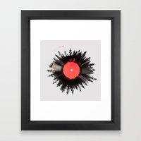 The Vinyl Of My Life Framed Art Print