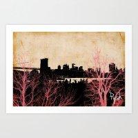 nyz Art Print