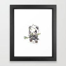 Skadoosh Framed Art Print