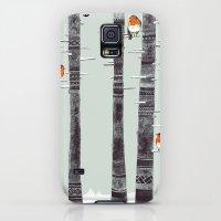 Galaxy S5 Cases featuring Robin Trees by Sandra Dieckmann