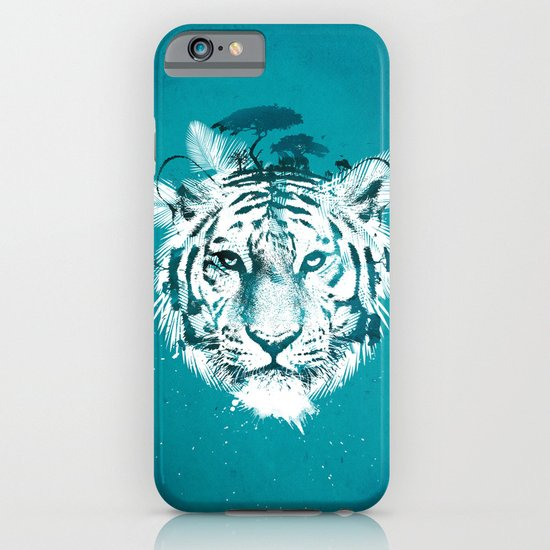 White Tiger iPhone & iPod Case